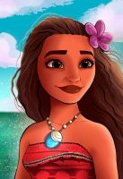 Moana by Spidertof