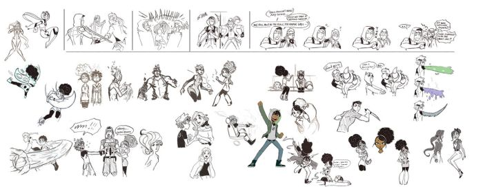 Supercell Sketchdump 12 by ActionKiddy