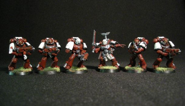Blood Ravens Combat Squad by pwcca87