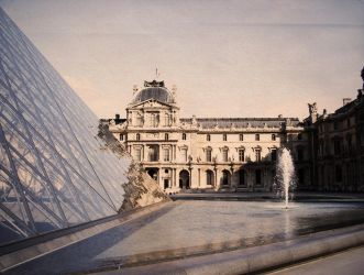 The Louvre by StefySan