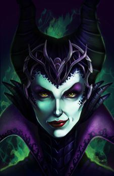 Maleficent by DigiAvalon