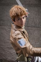 SnK - Jean Ready to Strike by Solo-The-Loner