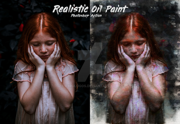 Realistic Oil Paint Photoshop Action by Byrologos