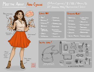 Meet the Artist by Auro-Cyanide