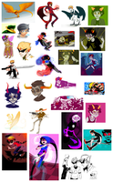 All of the Homestucks by Yobot