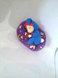 Sailor Moon Chibi Chibi sleeping Figure by Fegarostalida