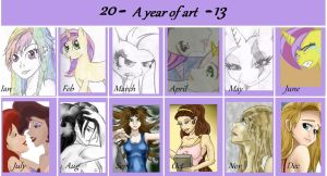 A Year of Art by bookxworm89