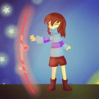 Glitchtale Frisk by SuhaiCo