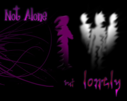 Not alone, but lonely by CSasCh