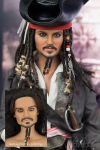 Johnny Depp - Repaint Doll by naraedoll