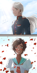 Candela and Blanche by Autumn-Sacura