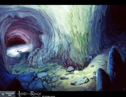 LOTR card - Silent Caverns by Trudsss