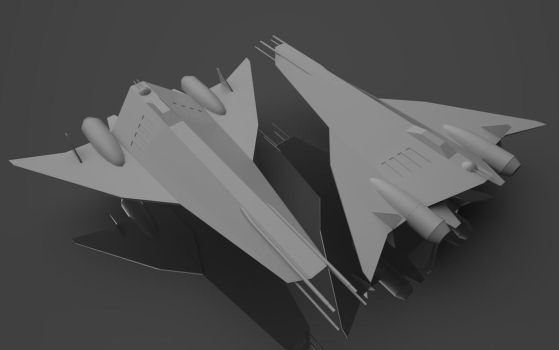 S-Wing Heavy Starfighter/Troop Transport by planetrix15