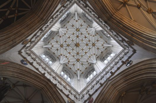 York Minster Tower by monophoto
