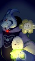 UNDERTALE - Asriel by ZoeDraws
