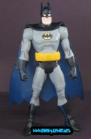 Custom Batman animated BTAS by rickyscomics