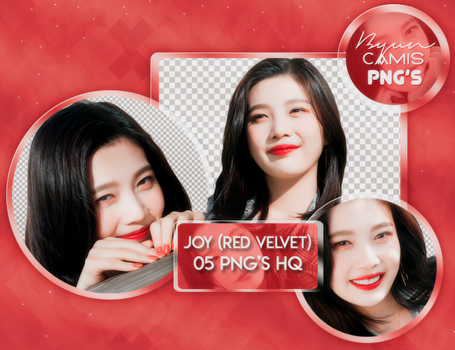 [PNG PACK #108] JOY (RED VELVET) by ByunCamis