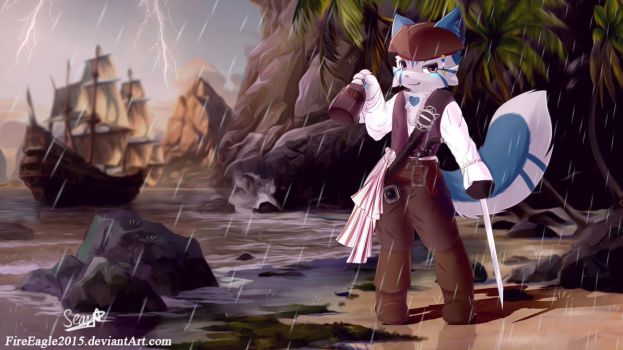 A Pirate Life [Commission] by FireEagle2015
