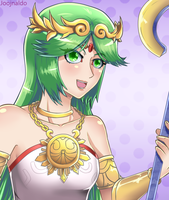 Lady Palutena by Joojnaldo