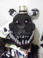 Nightmare FNAF 4 cosplay mask by Ares1151987