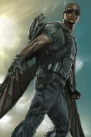 Falcon #Captain America by Tomtaj1