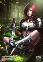 Katarina (NSFW version available on Patreon) by GDecy