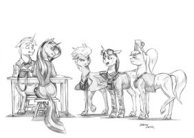 Who would you three be? by Baron-Engel