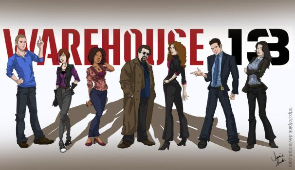 Warehouse 13 by ofpink