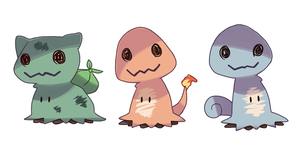 Mimikyu starters should be a thing by StarZCandy03