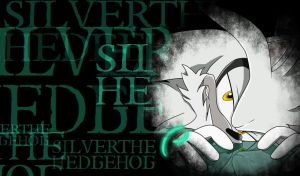 Silver the hedgehog - Gothic wallpaper by Escope3456