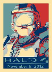 Vote for Master Chief by DisturbedShifty