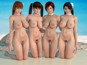 Dead or Alive DOA 4000 by RadiantEld