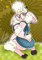 Naughty Bellwether  by KaiNoKimi