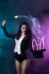 Zatanna And Her Bunny - First Photo by drb7364