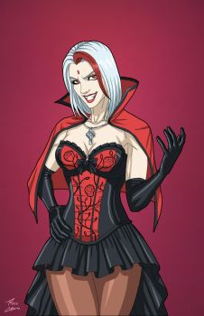 Fang-Girl / Vampire Fangirl (Earth-27) by Roysovitch