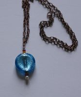 Blue and copper by Margotka
