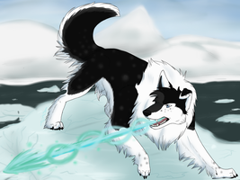 Ice Beam Assult -Speed Paint- by wolfyrose623