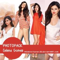 Photopack Selena Gomez by MiliDirectionerJB