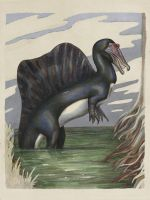 Spinosaurus aegyptiacus by greer-stothers