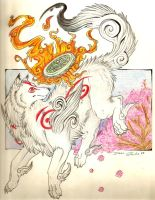 Amaterasu by RazorCookie