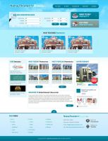 Layout for Property Sales and Real Estate by harkalopchan