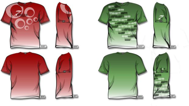 T-Shirt designs - V1 by 7thsign