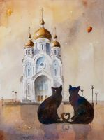 Cats from Chabarovsk by sanderus