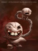 Gemini - Binding of Isaac by Gromy