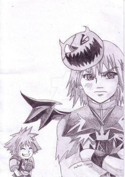 Sora and Riku Completed by Tipster360