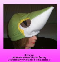 Snivy hat by PokeMama