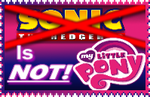 old Anti Sonic x MLP Crossover Stamp by IcePony64