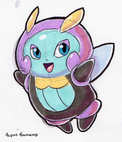 #314 Illumise by little-ampharos