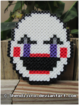 Puppet/Marionette from FNAF | Bead Sprite by Shendijiro