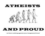 Proud Atheists by Sc1r0n